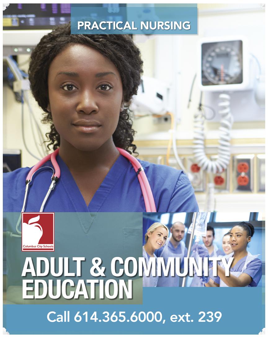 Columbus City School of Nursing - Posters Series