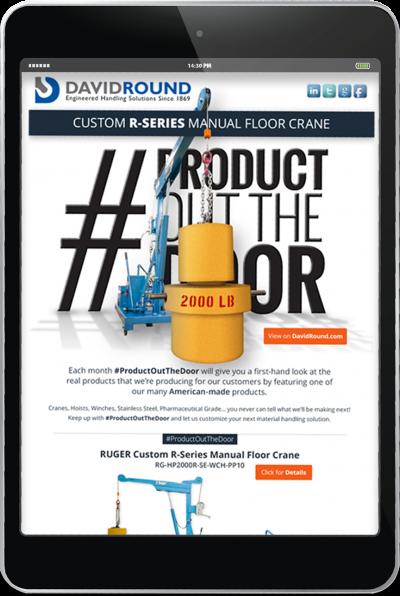 David Round Crane Company - Digital Media Campaign 2
