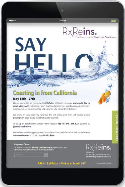 RxReins - Email Campaign - Say Hello