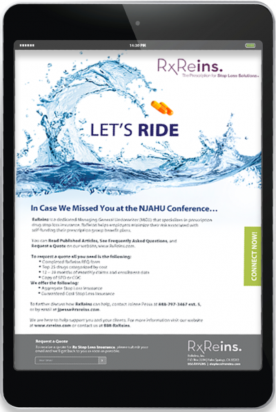 RxReins - Email Campaign - Let's Ride