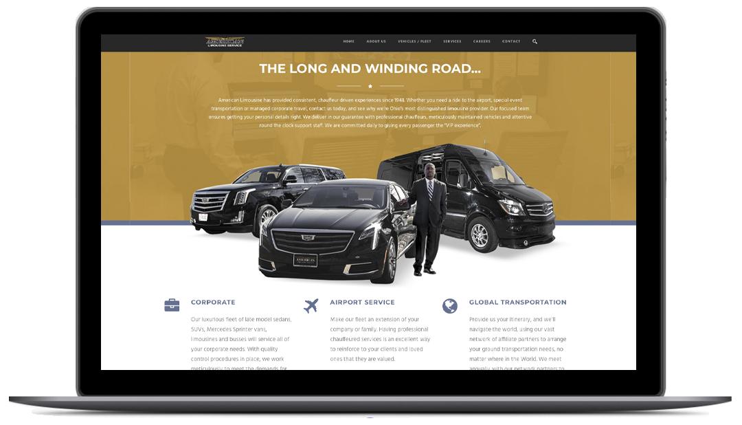 Linear Creative Website Design 1