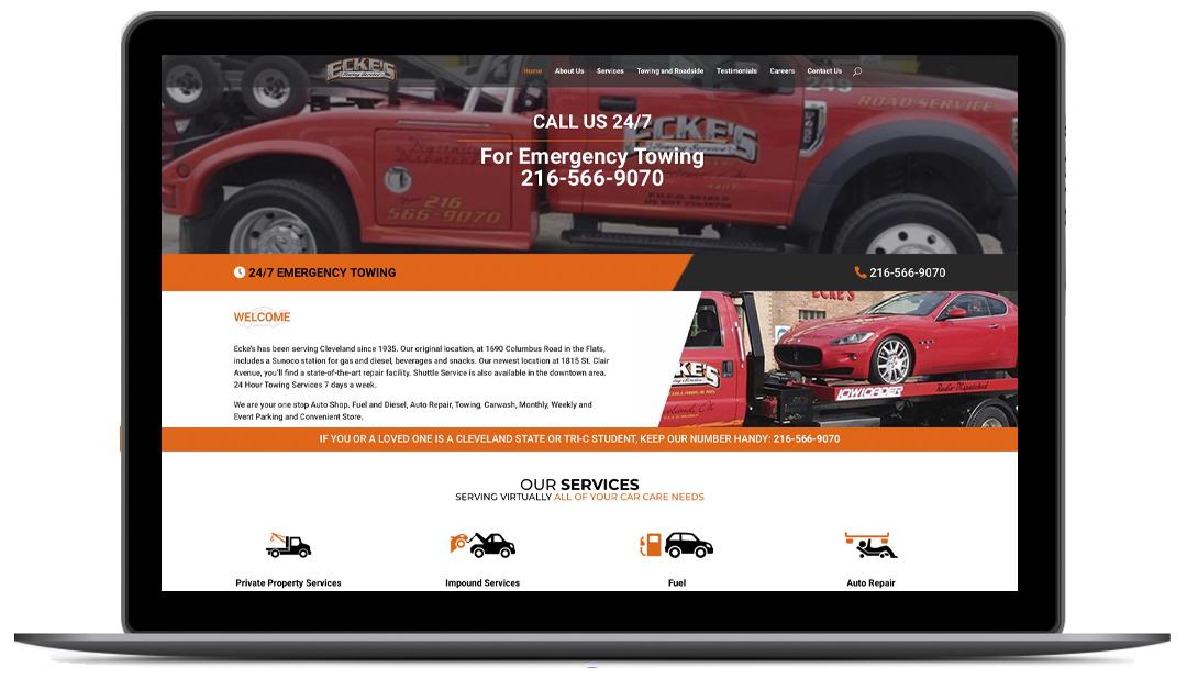 Eckes Service - Website Design