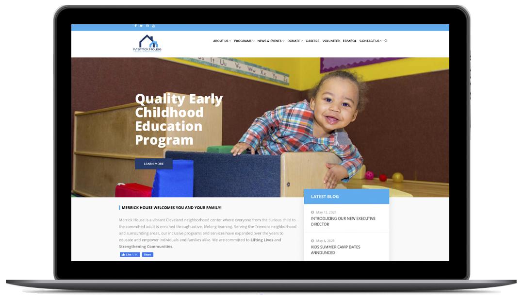 Merrick House - Website Design