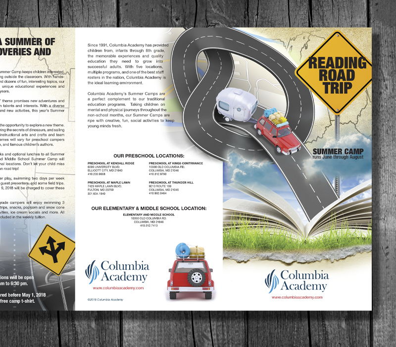 Columbia Academy - Summer School Brochure