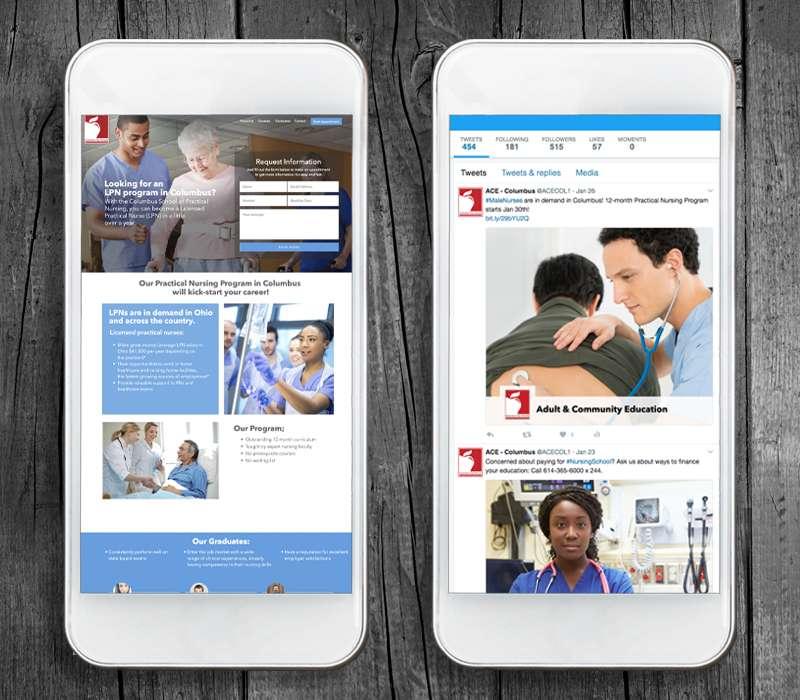 Online Marketing - Columbus School of Nursing