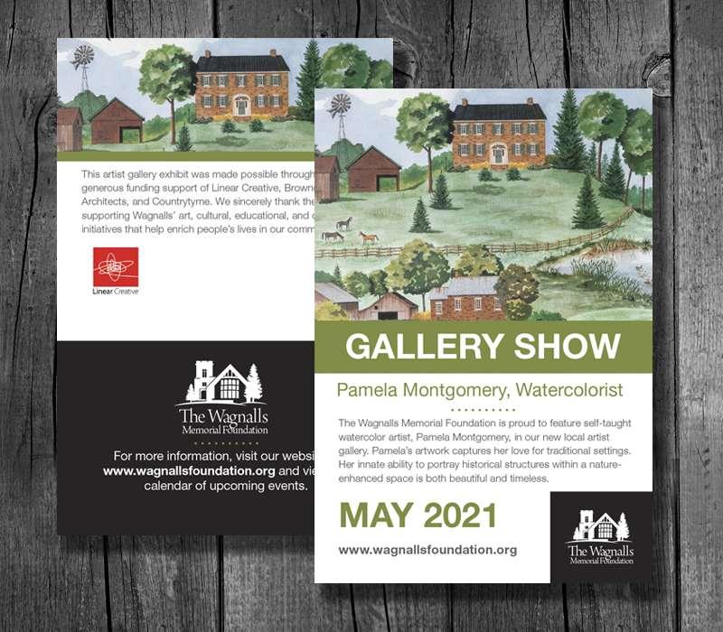 Promotional Postcards - Wagnalls Foundation