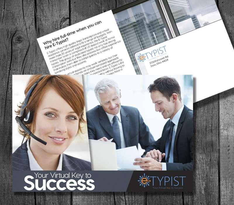 E-Typist Postcard