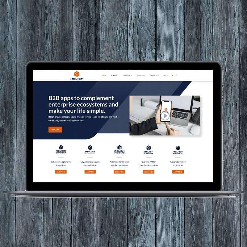 Relish - Website Design