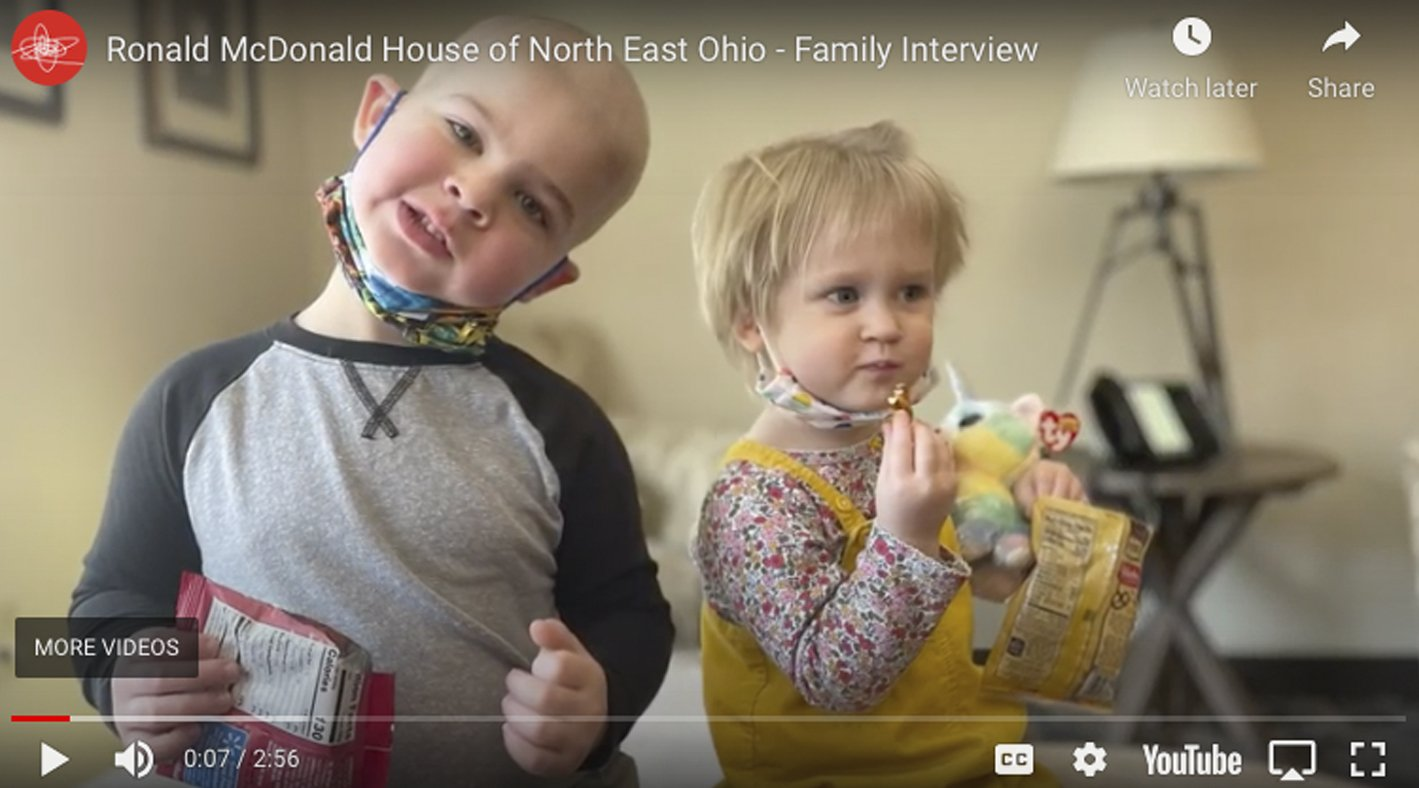 Ronald McDonal House of Cleveland - Video