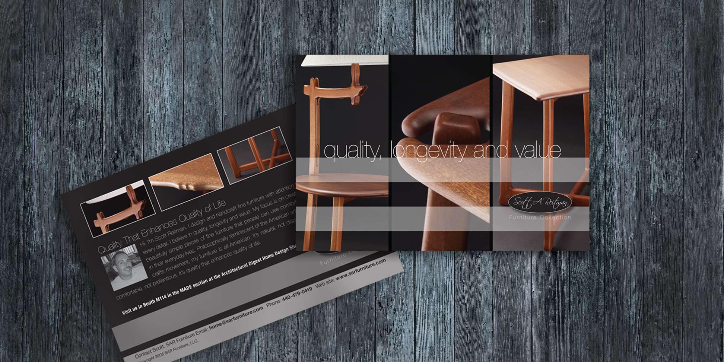 SAR Furniture - Direct Mail Postcard 4