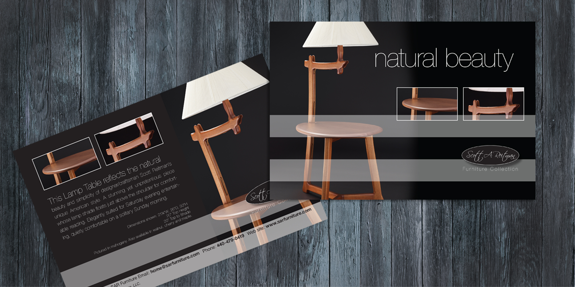 SAR Furniture - Direct Mail Postcard 1