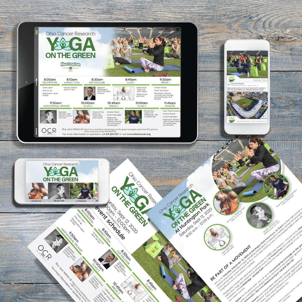 Yoga On The Green - Ohio Cancer Research - Columbus Ohio