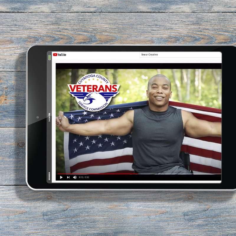 Youtube Marketing Campaigns - Cuyahoga County Vetrans