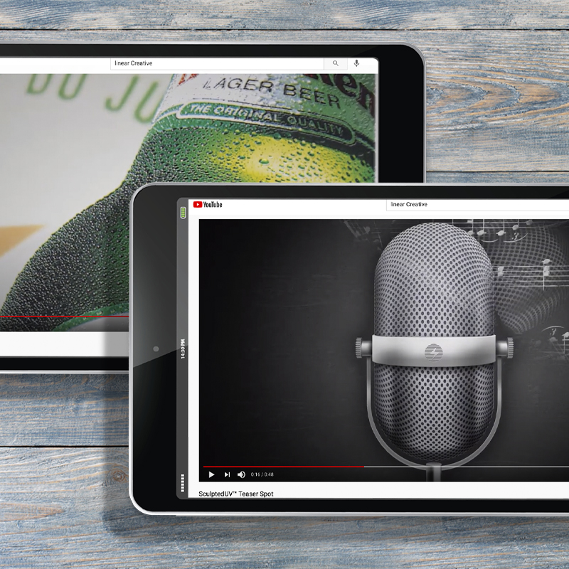 Youtube Marketing Campaigns - Linear Creative