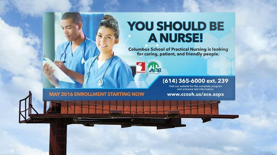 Columbus City Schools Billboard
