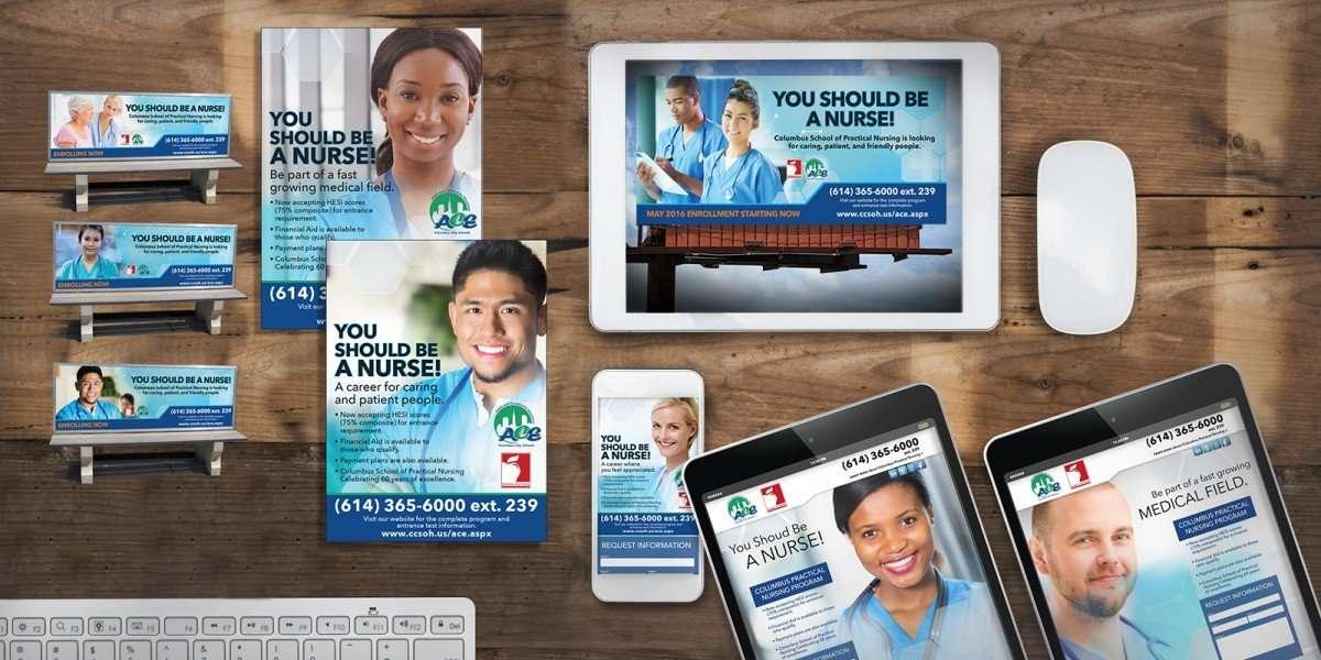 Columbus Nursing Rebrand