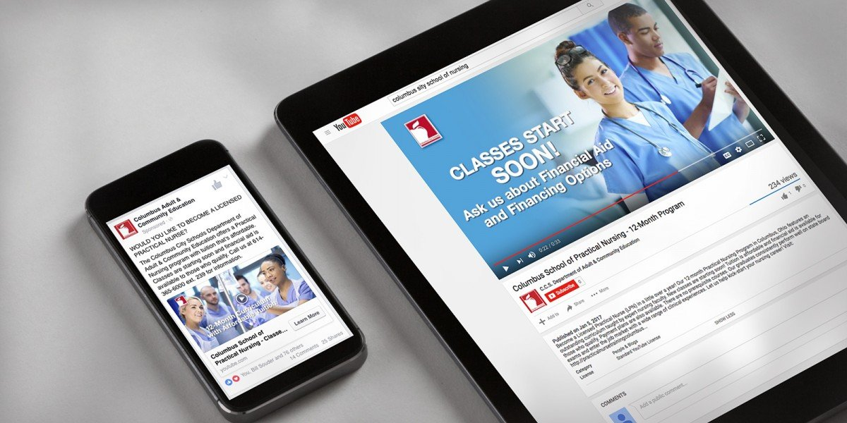 Columbus Nursing Social Media Branding
