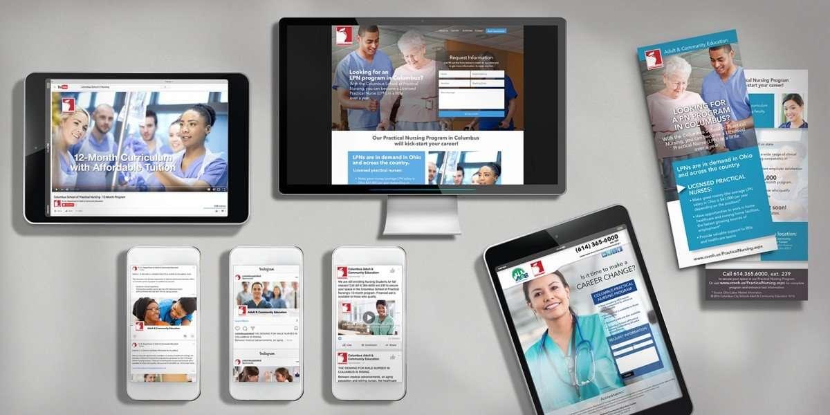 Columbus Nursing Social Media