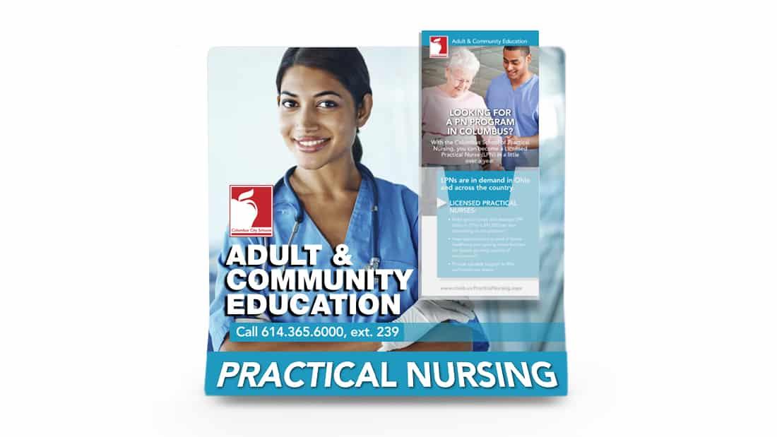 Display Graphic - Columbus School of Nursing