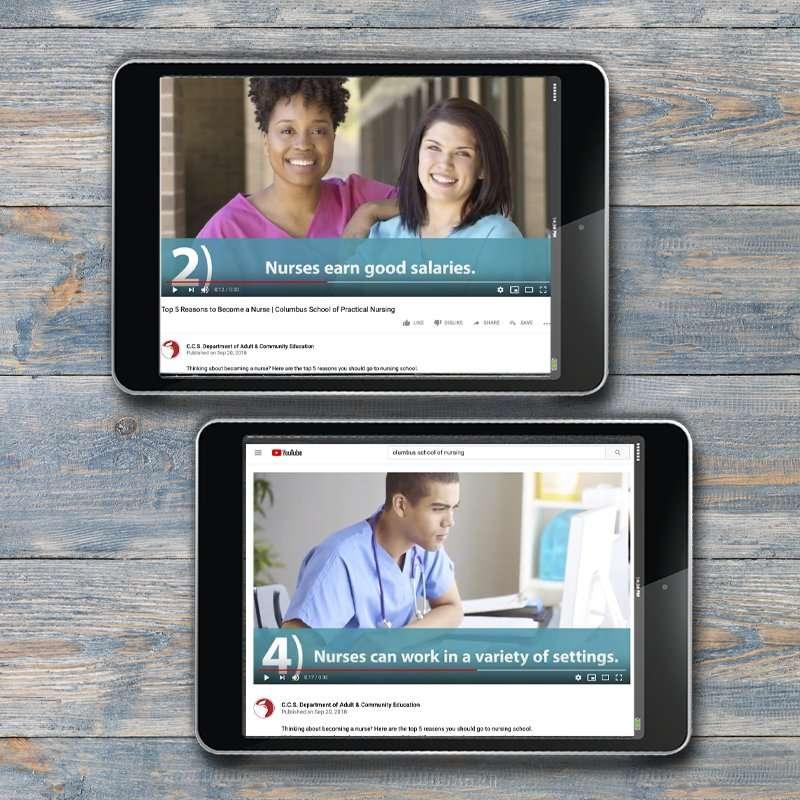Columbus School of Nursing Video Marketing