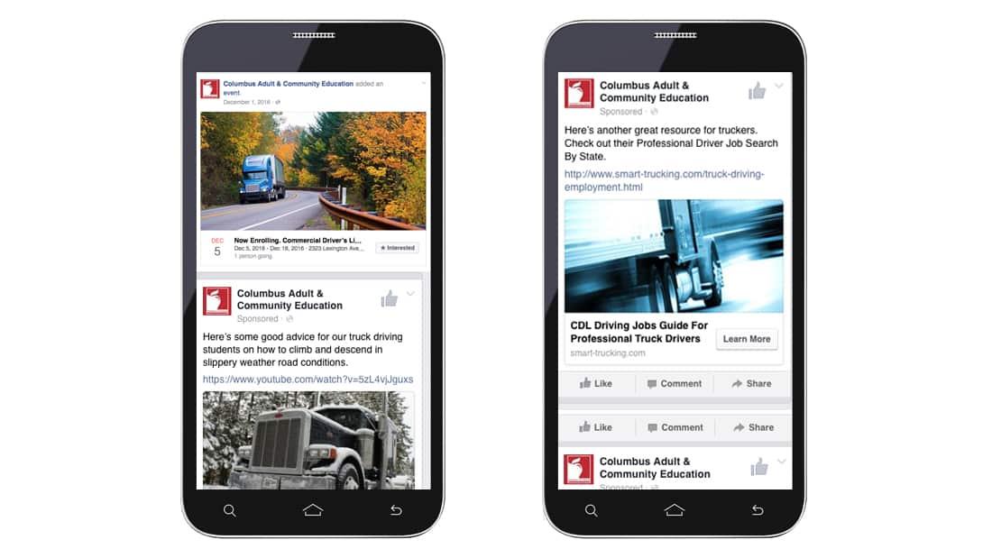 trucking Training - Social Media Program