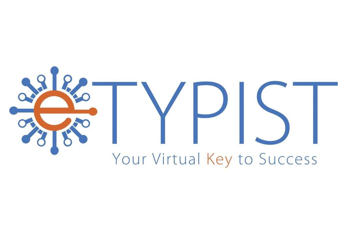 E Typist Logo Design