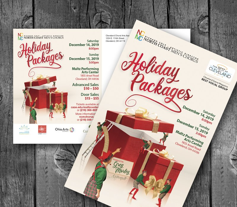 NCMC Holiday Concert Promotion