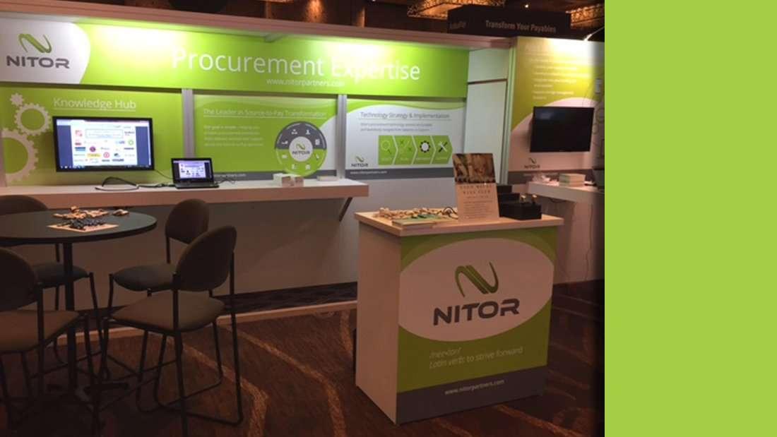 NITOR Trade Show Display