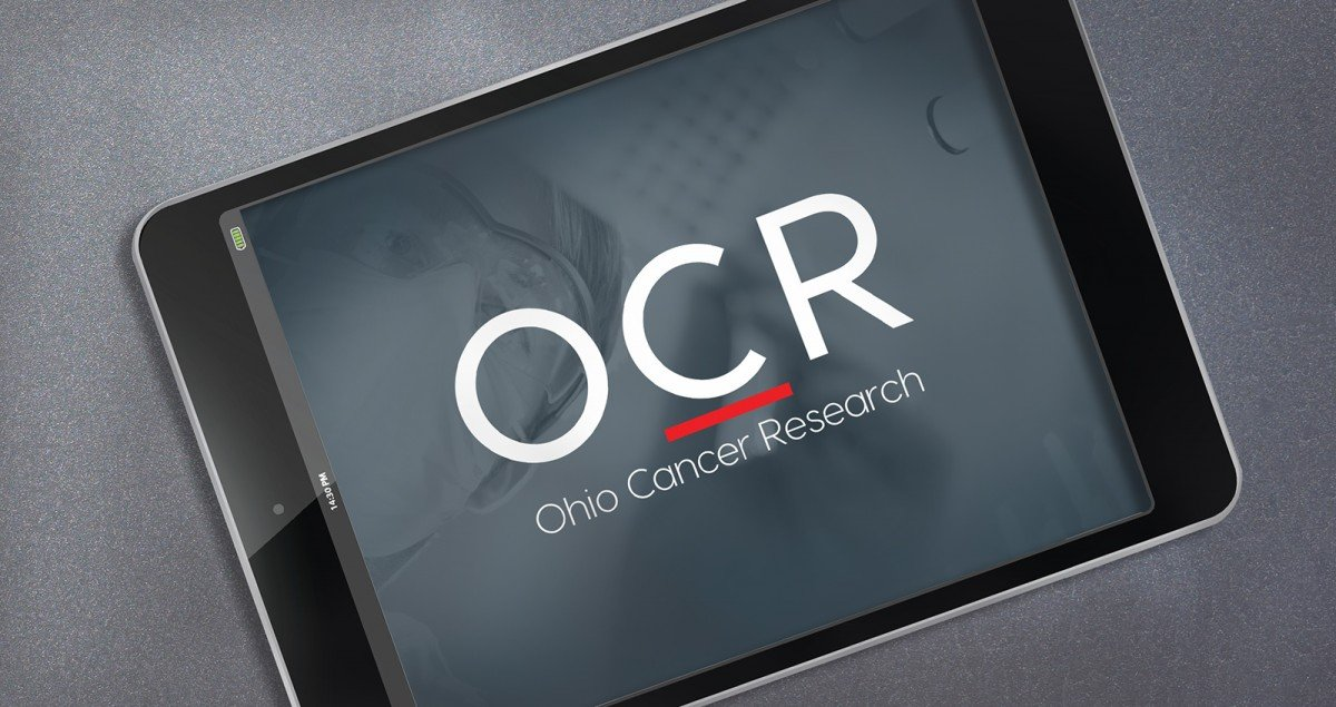 Nonprofit Rebranding for Ohio Cancer Research Logo