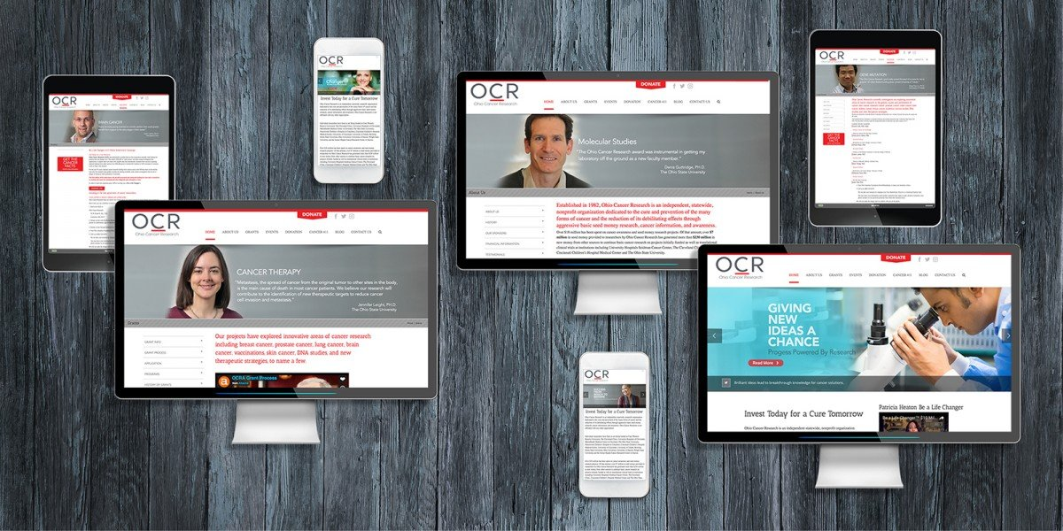 Nonprofit Rebranding for Ohio cancer Research 4