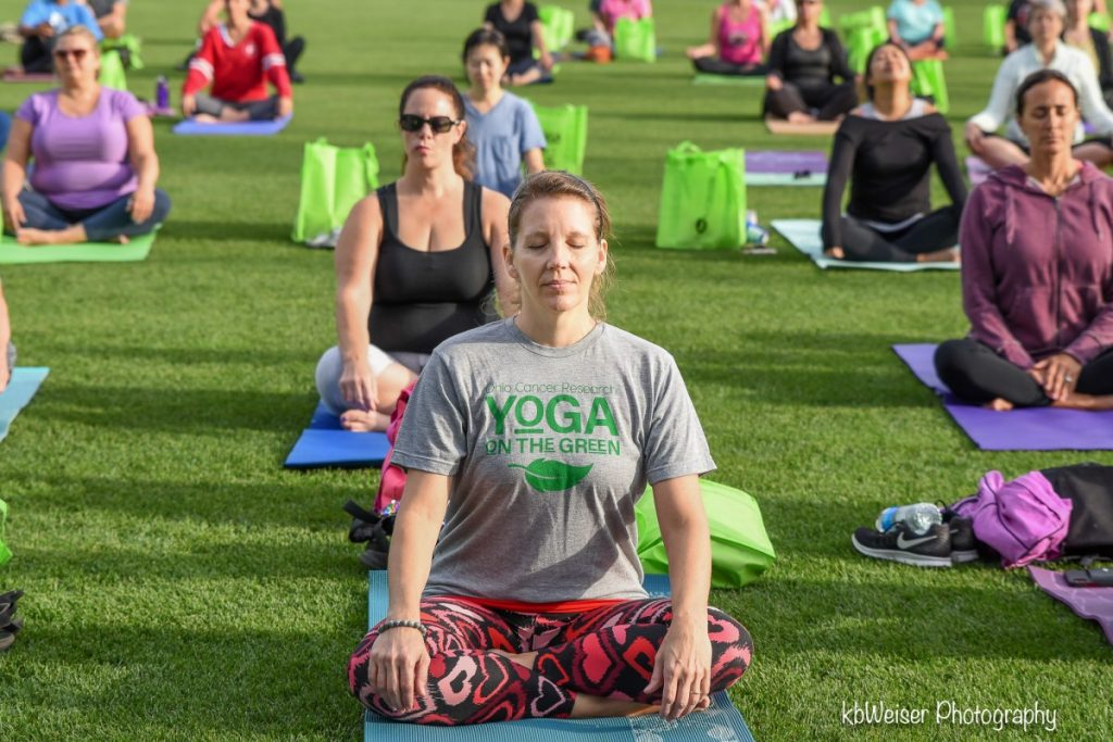 OCR Yoga on the Green 1
