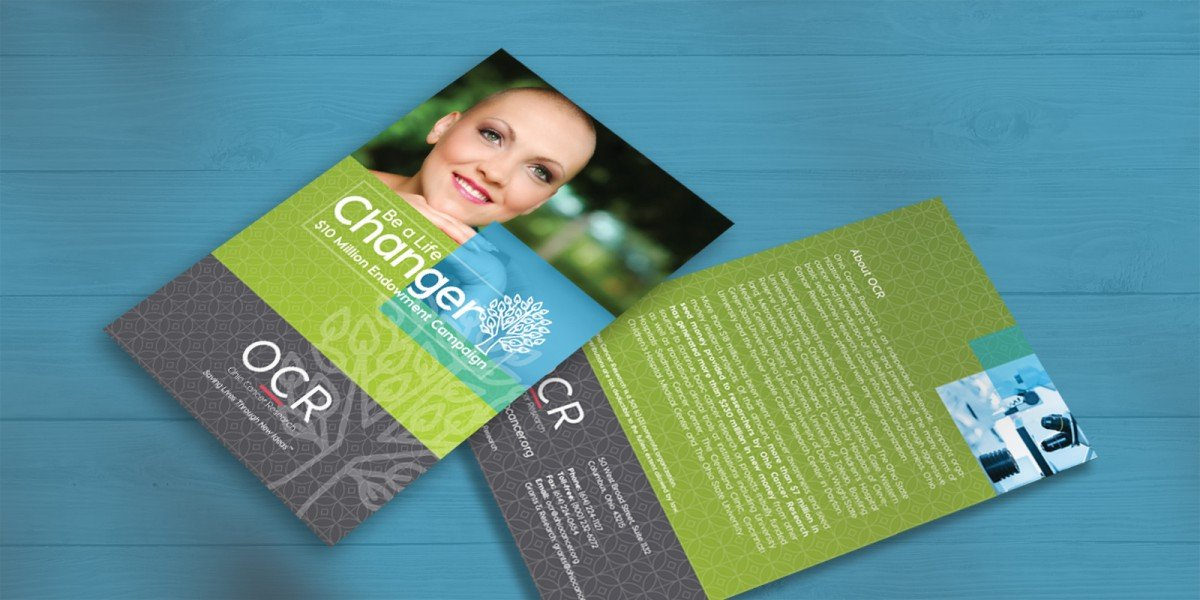Ohio Cancer Research Fundraising Materials 1