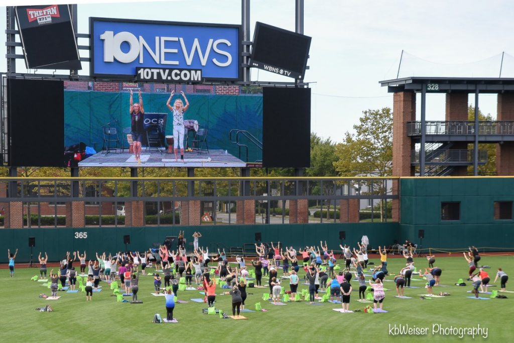 OCR Yoga On The Green 2