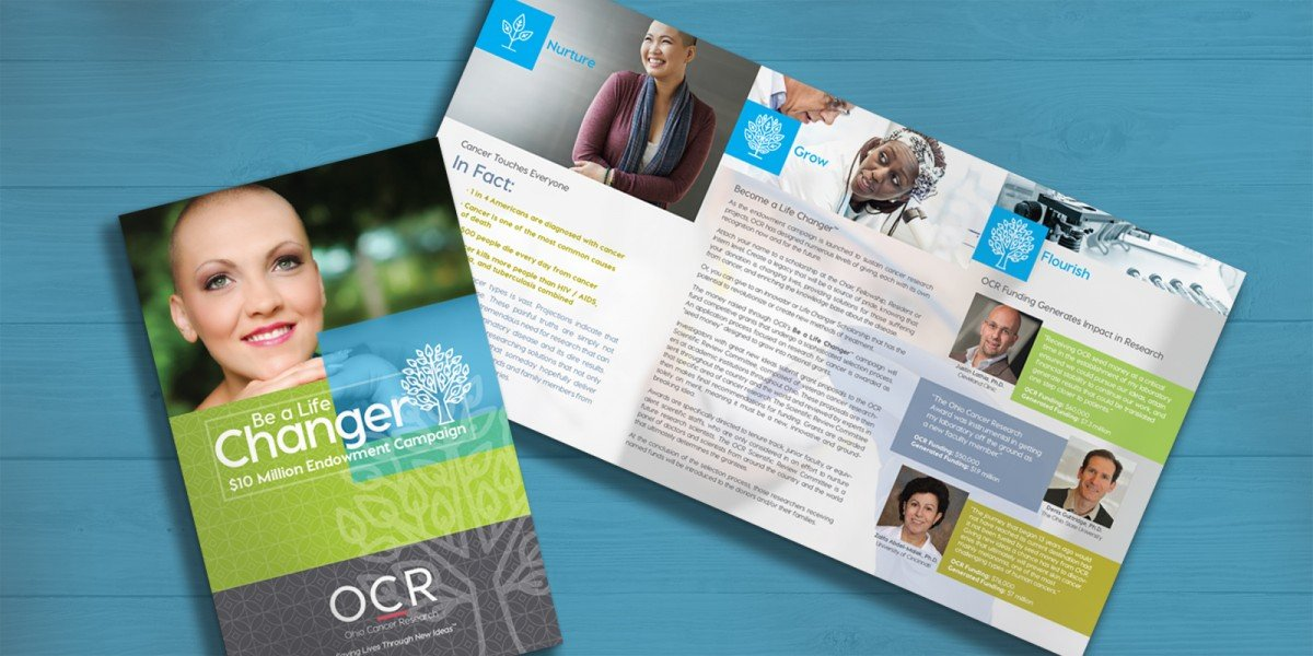 Ohio Cancer Research Fundraising Brochure