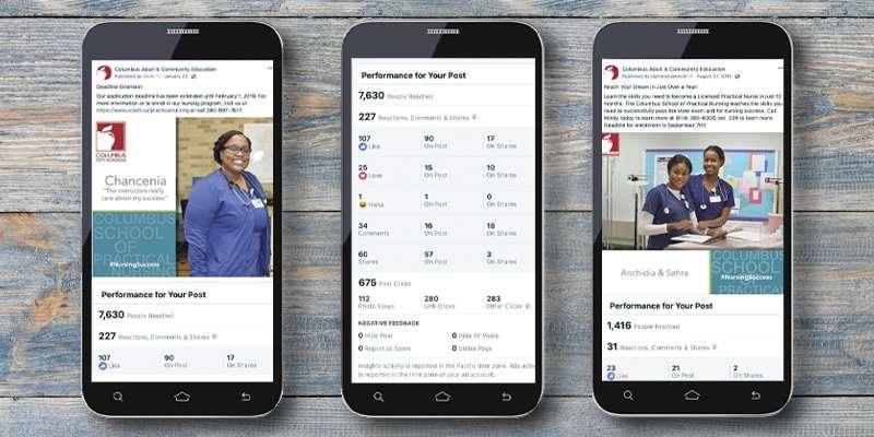 Social Media Campaign Columbus School of Nursing