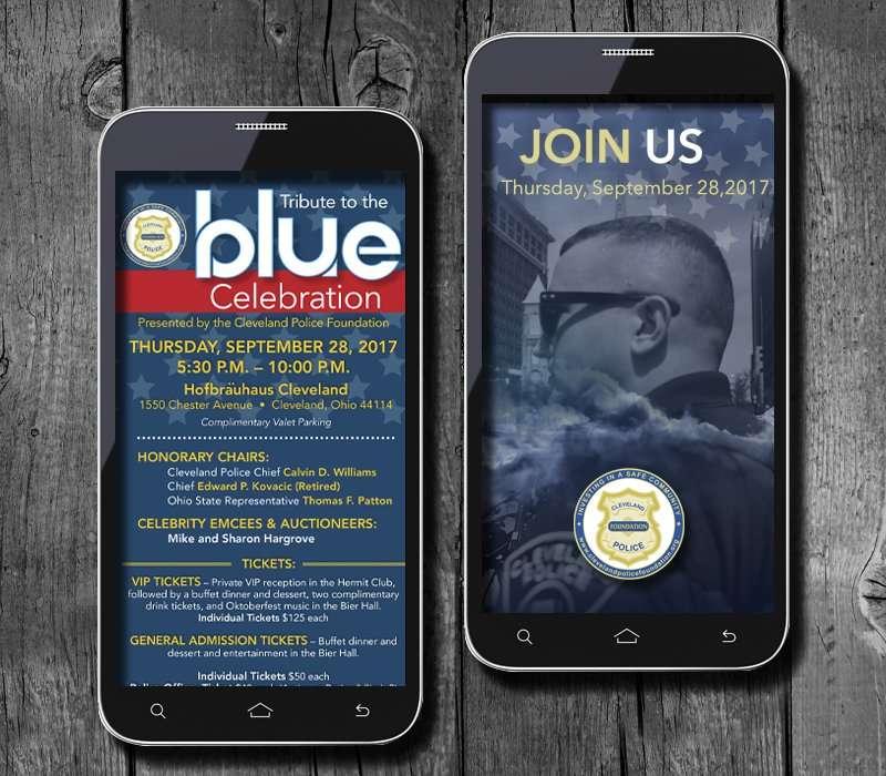 Support The Blue Social Media