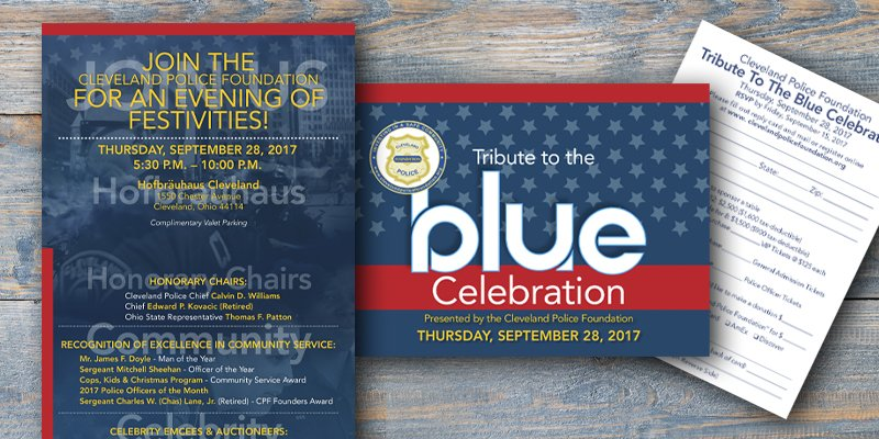 Support The Blue_Cleveland Police Event