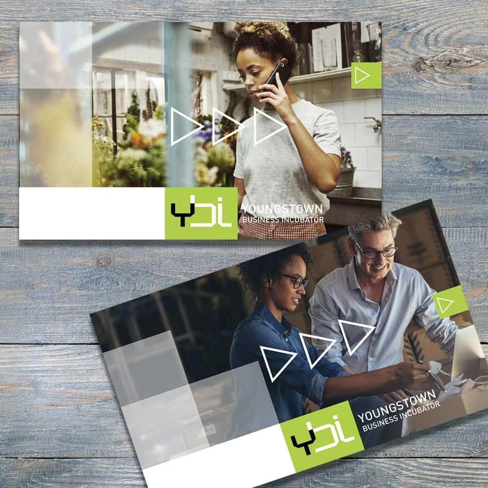YBI Branded Postcards