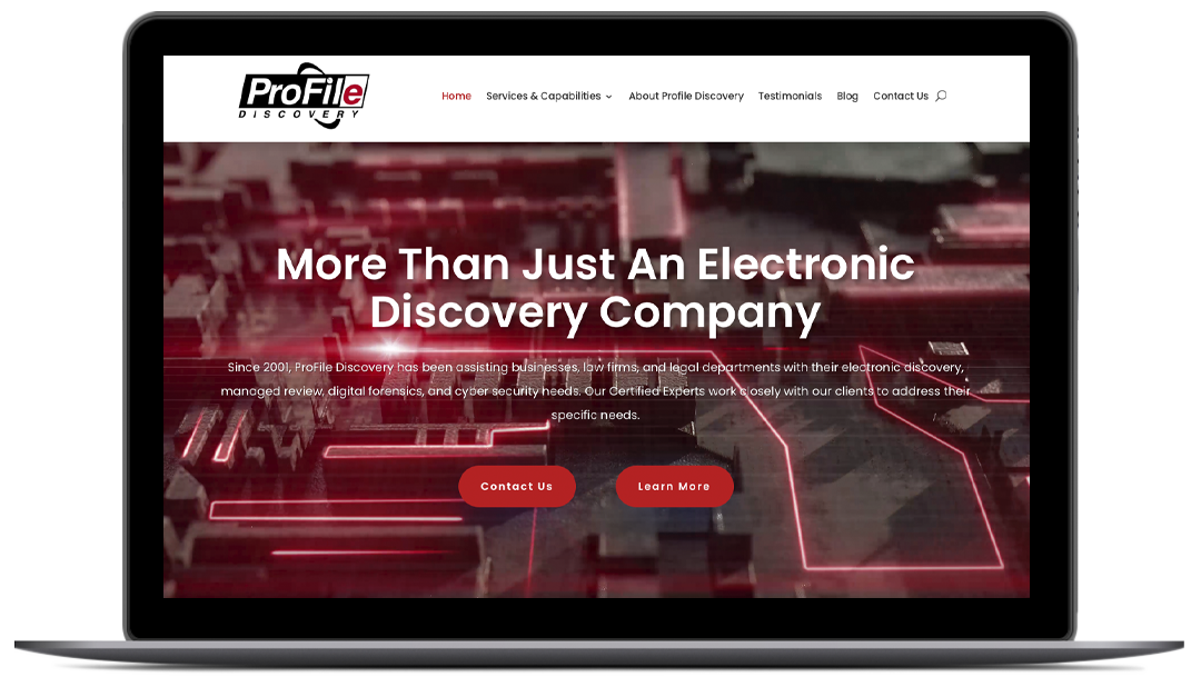 Profile Discovery Header