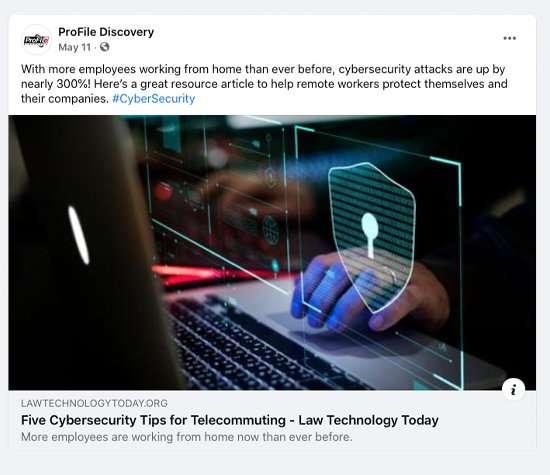 Profile Discovery Social Media